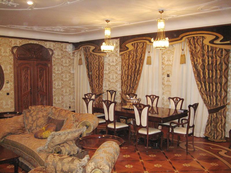 Lestev Studio - Интерьер Art Nouveau